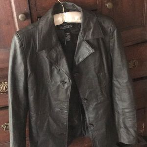 Dialogue Leather Jacket